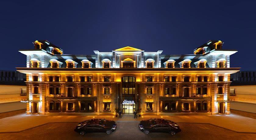 Divan Suites Batumi building