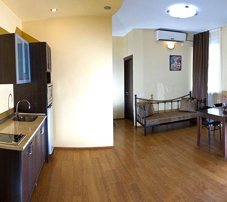 Batumi Mgzavrebi 2 rooms apartment without balcony