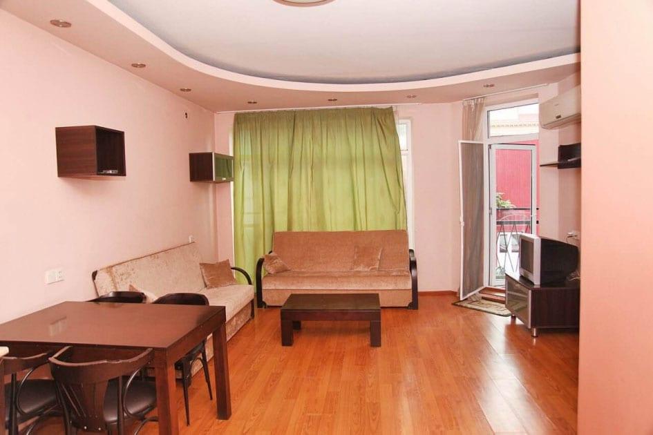 Batumi Mgzavrebi Standard quadruple room with balcony
