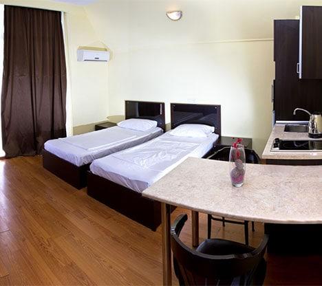 Batumi Mgzavrebi Standard twin room with balcony