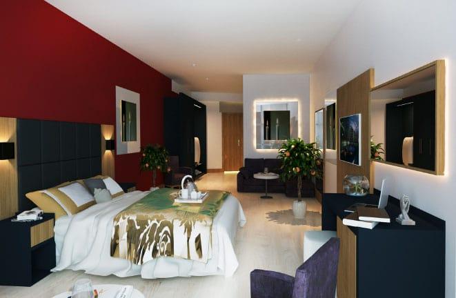 Euphoria Standard Land View Room