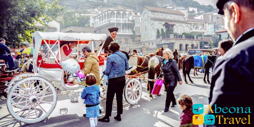 March 8-th in Tbilisi