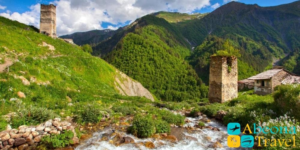 Тур в Сванетию из Кутаиси