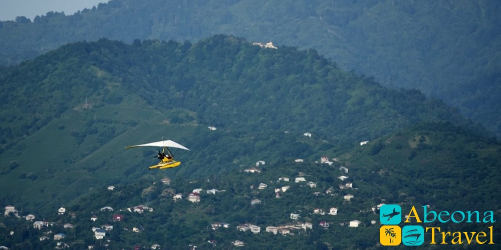 Полет на параплане в Батуми