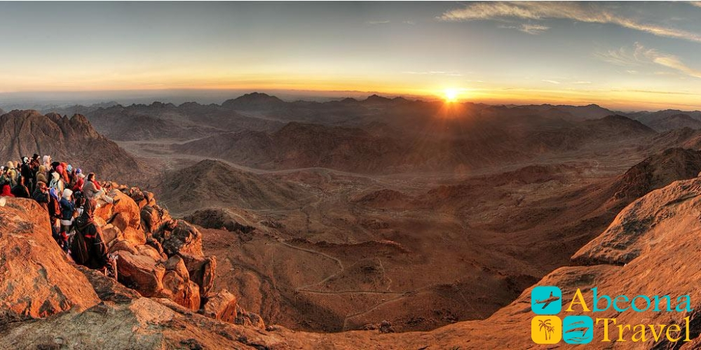 Гора Моисея и монастырь Святой Екатерины