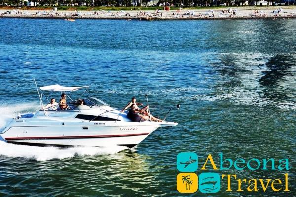 Yacht tour in Batumi