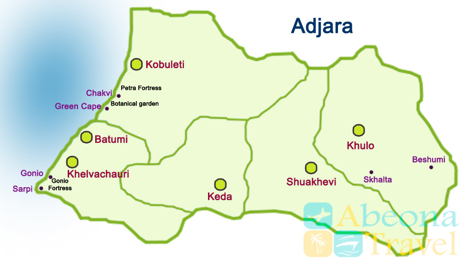 adjara map en