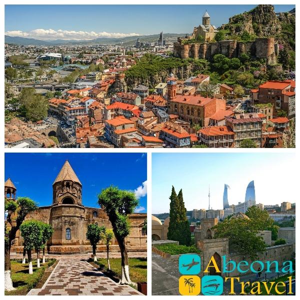 Tourto Azerbaijan, Georgia and Armenia