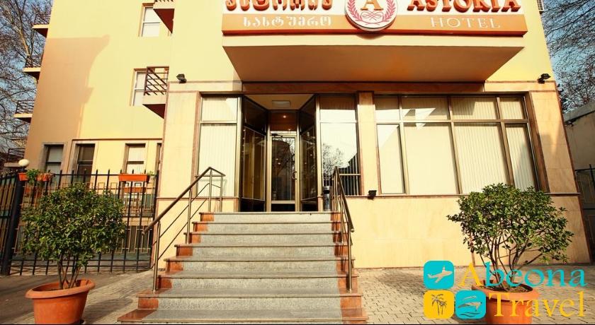 astoria hotel tbilisi view