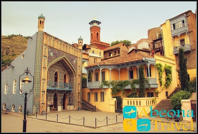 Mecheti goroda Tbilisi abeonatravel