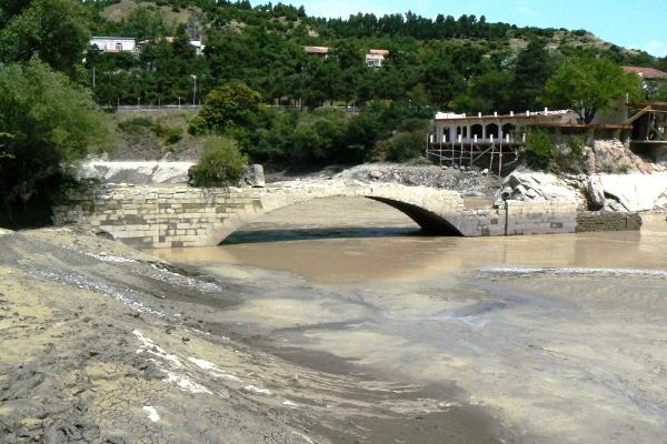 Мост Помпея в Мцхета