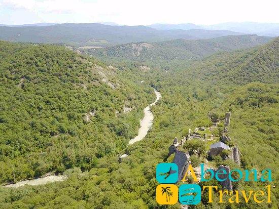 Крепость Уджарма грузия